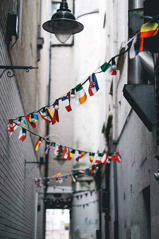 GrndWorX various flags, international